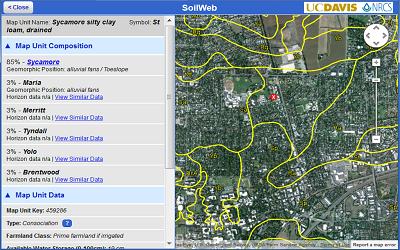California Soil Resource Lab :: SoilWeb Apps