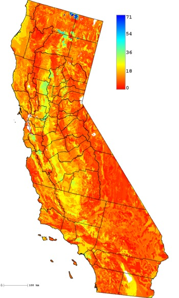 California Soil Resource Lab Soil Properties Visualized